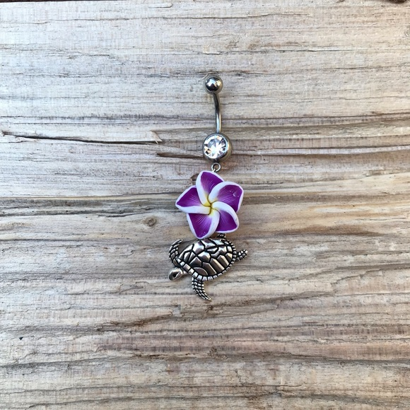 Jewelry Hawaiian Turtle Belly Button Ring Poshmark